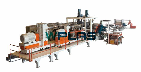 PET Single Layer & Multi-layer Sheet Extrusion Line » YSA Series